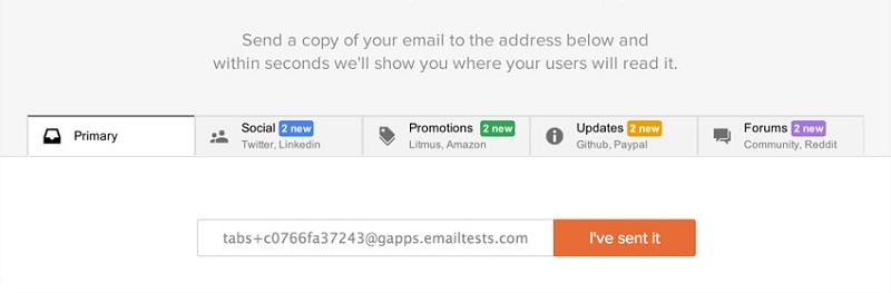 Tab Gmail