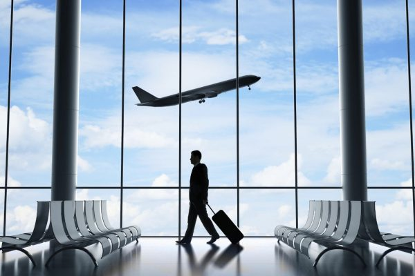 Traveling on business