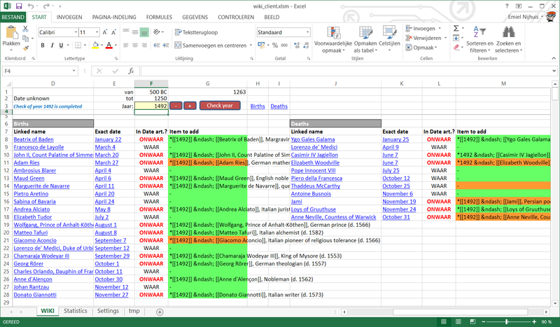 Five important uses for excel